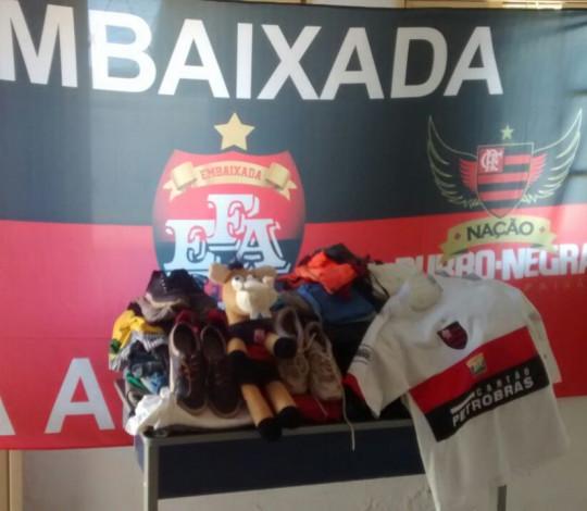 Campanha do agasalho da Fla Araguaína