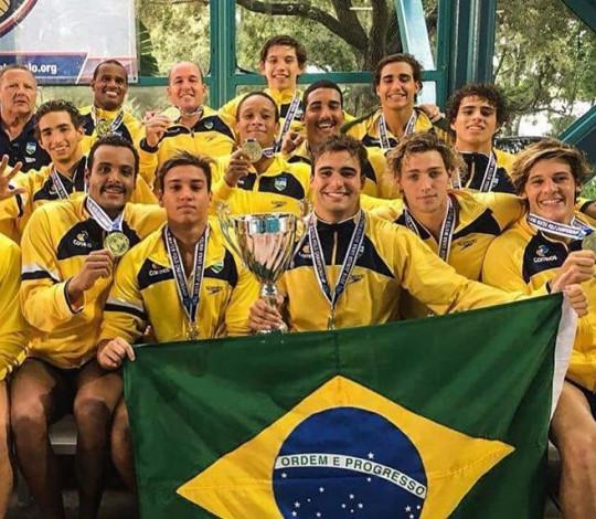 Mateus e Nicholas conquistam o título Pan-Americano Sub-19 com a Seleção Brasileira