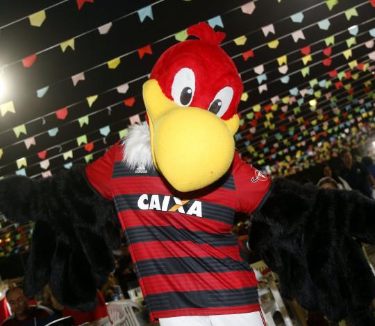 Arraiá rubro-negro movimenta Gávea no sábado