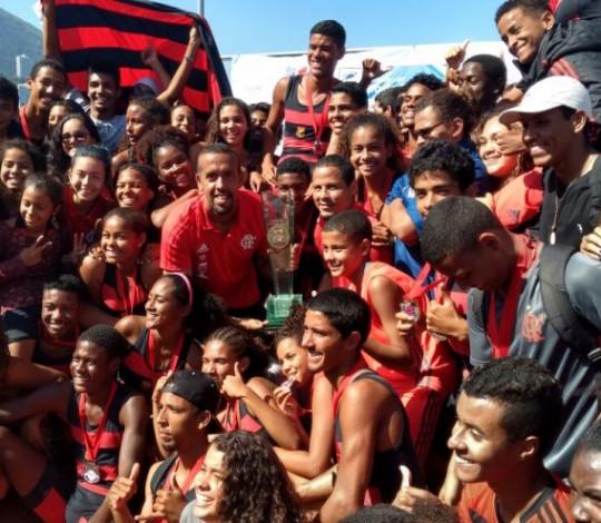 Flamengo se prepara para a disputa da Regata do Futuro