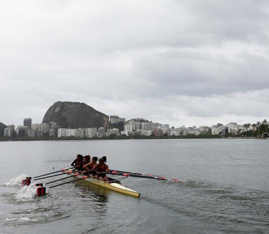 Flamengo termina em terceiro lugar na Regata Remo do Futuro