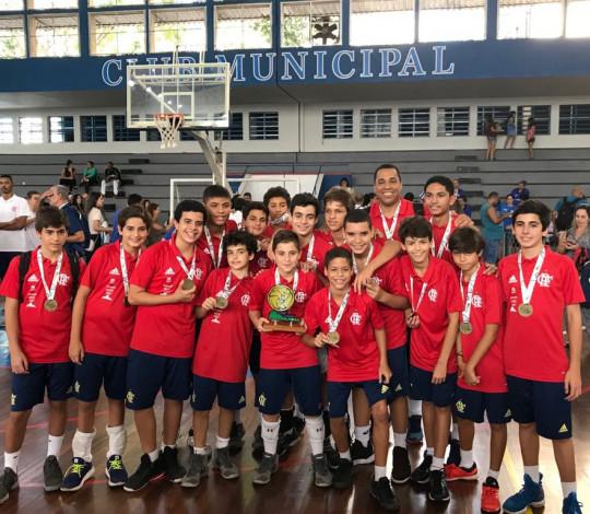 Flamengo é campeão da Copa Cidade Maravilhosa de Vôlei Mirim