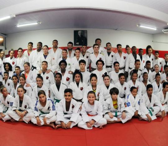 Equipe rubro-negra está pronta para encarar o Troféu Brasil de Judô