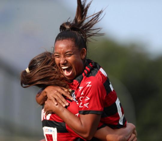 Flamengo/Marinha tem grande atuação e goleia Santos na Gávea
