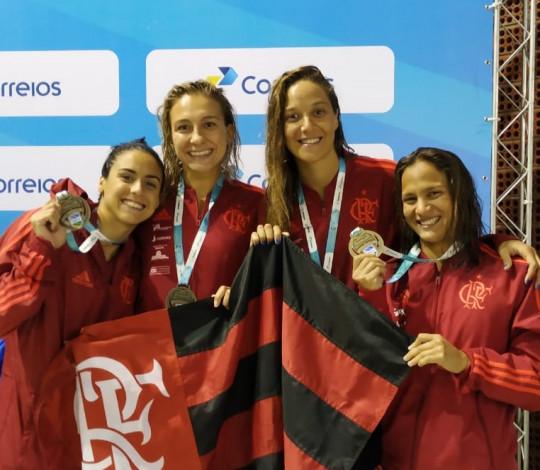Flamengo conquista seis medalhas nos primeiros dias do Troféu José Finkel