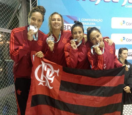 Flamengo conquista onze medalhas e a terceira colocação no José Finkel com grande atuação feminina