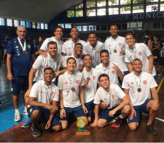 Com equipe Juvenil, Flamengo disputa Campeonato Estadual Adulto Masculino de Vôlei