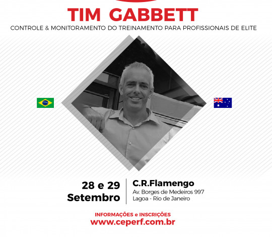 Workshop Internacional com TIM GABBETT na Gávea