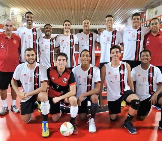 Flamengo vence Tijuca na estreia do Campeonato Estadual Adulto de Vôlei Masculino