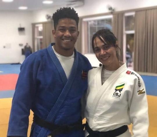 Luiz Filipi Santos participa de treinamento de campo da Confederação Brasileira de Judô