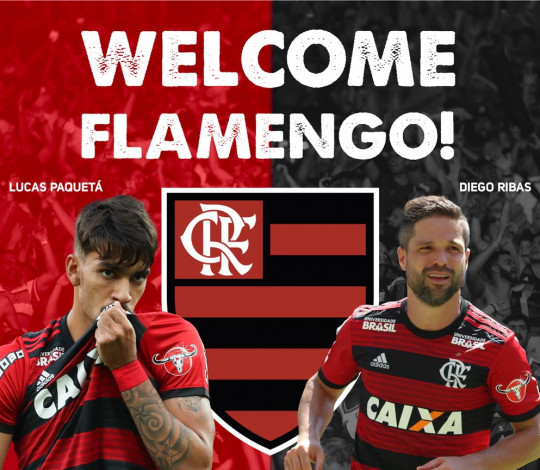 Flamengo confirma participação na Florida Cup de 2019
