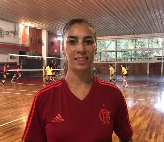 Jéssica Silva é a nova contratação do FlaVôlei