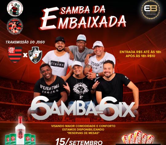 Segunda edição do 'Samba da Embaixada' promete ser uma grande festa