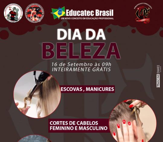 Fla Campos-RJ promove 'Dia da Beleza' para população campista