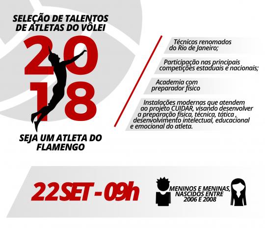 Seleção de Talentos do Vôlei 2018