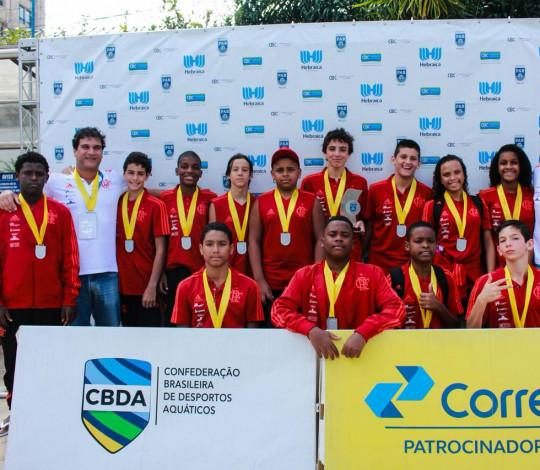 Flamengo conquista segundo lugar inédito no Brasileiro Sub-13 Misto de Polo Aquático