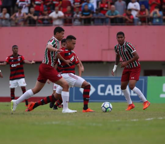 Sub-20 perde para o Fluminense e pensa agora na semifinal do Brasileiro