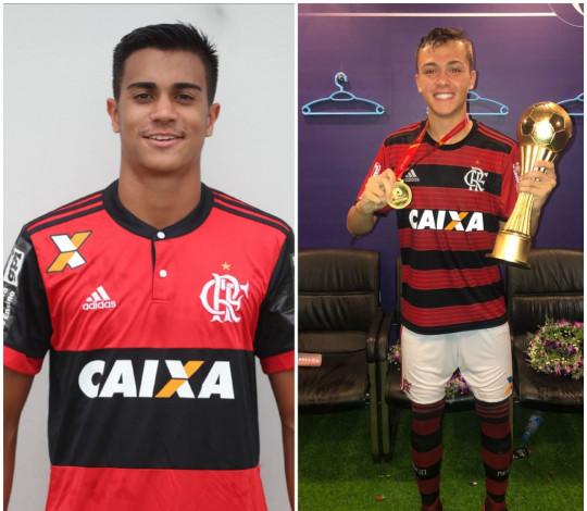 Reinier e Gabriel Noga são convocados pela Seleção Brasileira Sub-17 para torneio na Inglaterra