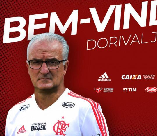 Flamengo anuncia Dorival Júnior como novo técnico do futebol profissional