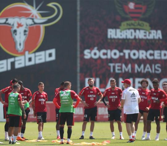 Rubro-Negro se prepara para mais um desafio pelo Campeonato Brasileiro