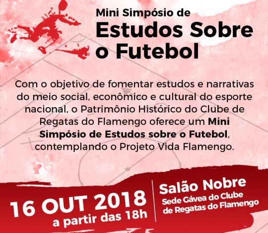 Patrimônio Histórico realiza simpósio sobre estudos do futebol