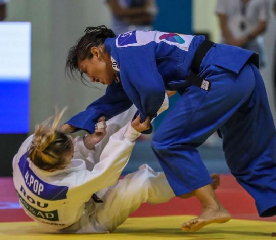 Sarah Menezes encerra participação no Grand Prix de Cancun na quinta colocação