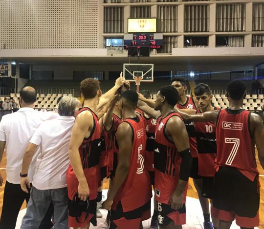 FlaBasquete vence o Praia Clube e conquista a segunda vitória na Copa Brasil Sub-18