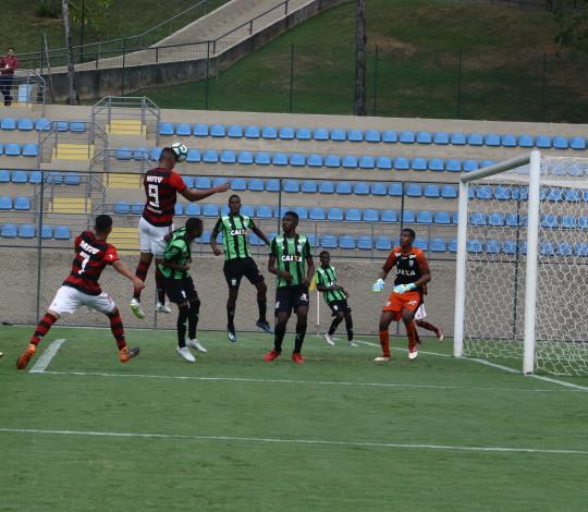 Sub-17 empata com América MG em BH e leva decisão da vaga nas quartas da Copa do Brasil para a Gávea
