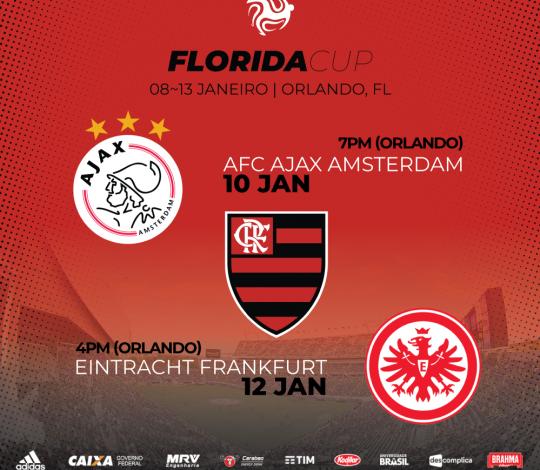 Zico será embaixador do Flamengo na Florida Cup