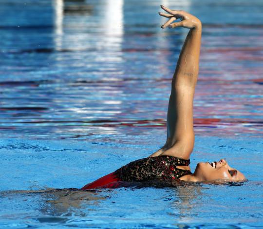 Confira as próximas competições do nado artístico rubro-negro