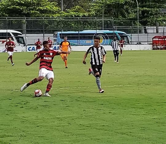 Sub-15 ganha novamente do Botafogo e está na final do Campeonato Carioca