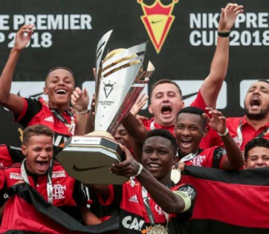 Garotos do Mundo: com cinco títulos em 2018 base do Flamengo mostra sua força mundo afora