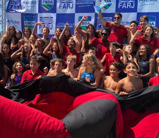 Flamengo se sagra campeão do Festival CBDA Sudeste de Natação Mirim e Petiz