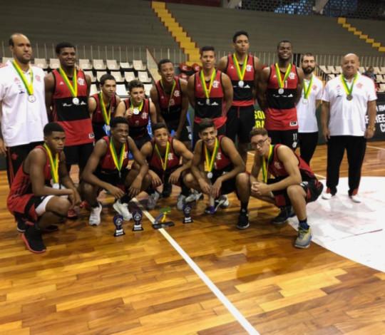 Flamengo termina Copa Brasil de Basquete Sub-18 em segundo lugar