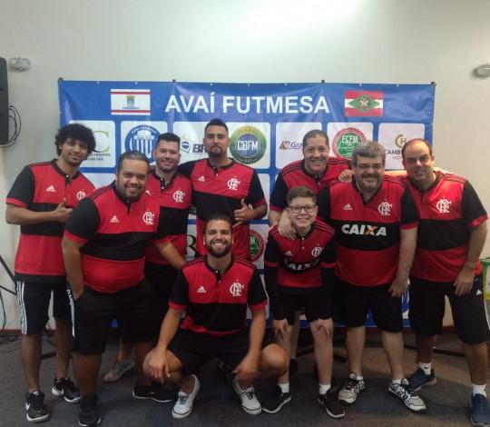 Rubro-negro é tricampeão Brasileiro Individual de Futebol de Mesa Dadinho