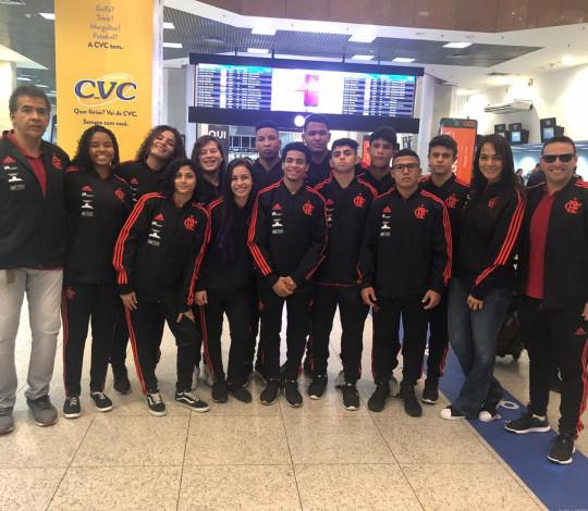 Judocas rubro-negros participam da Seletiva Nacional Sub-18