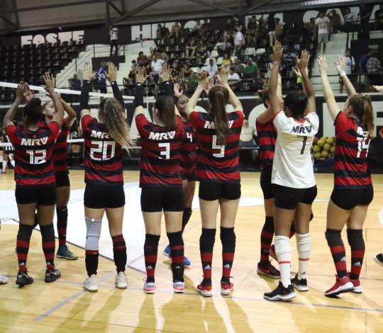 FlaVôlei recebe Sesc-RJ na Gávea pelo Campeonato Estadual