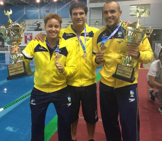 Rubro-negros conquistam título do Sul-Americano de Polo Aquático pela Seleção Brasileira