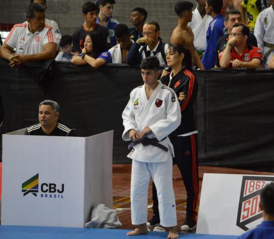 Quatro judocas rubro-negros estão classificados para o Meeting Nacional de Base 2019