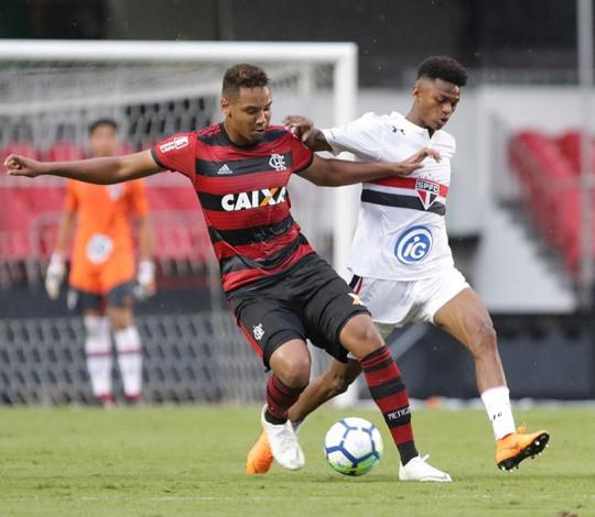 Flamengo e São Paulo decidem vaga na semifinal da Copa do Brasil Sub-17