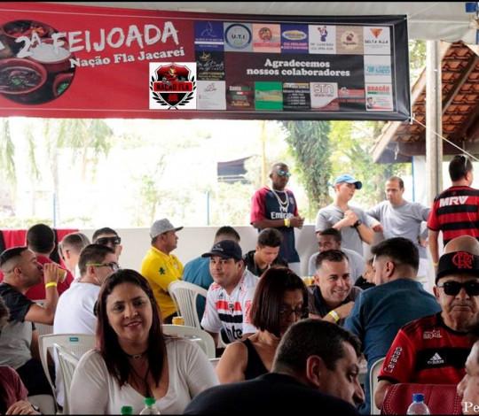 2ª Feijoada da Embaixada Nação Fla Jacareí foi um grande sucesso