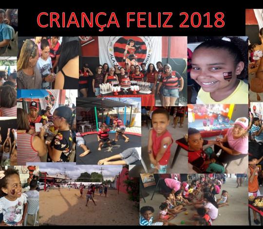 Ala feminina da Embaixada Fla Campos realiza o primeiro Criança Feliz