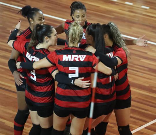 FlaVôlei enfrenta o Fluminense nas Laranjeiras pelo Campeonato Estadual