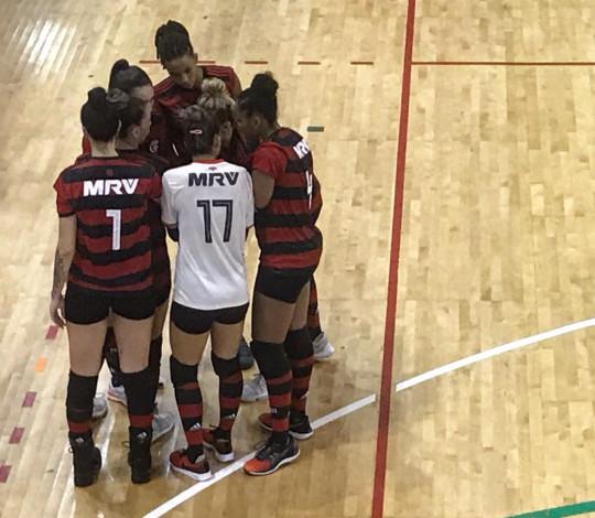 FlaVôlei encerra participação no Campeonato Estadual