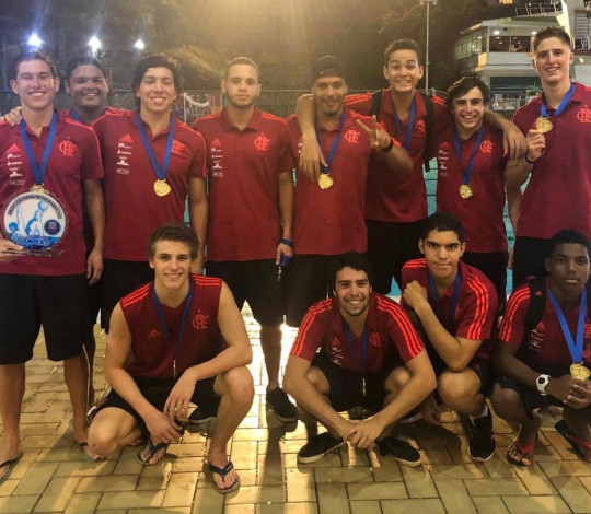 Flamengo é campeão do Campeonato Estadual Sub-20 de Polo Aquático Masculino