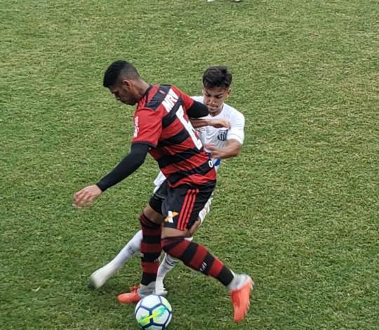 Com golaço de Reinier, Sub-17 empata com o Santos e decidirá vaga na final da Copa do Brasil no Rio