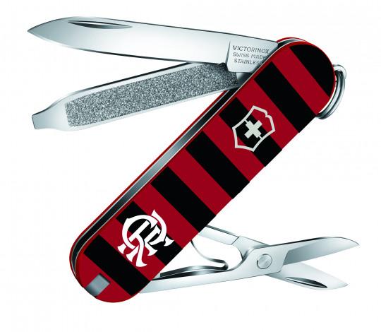 Victorinox lança canivete exclusivo para o Flamengo