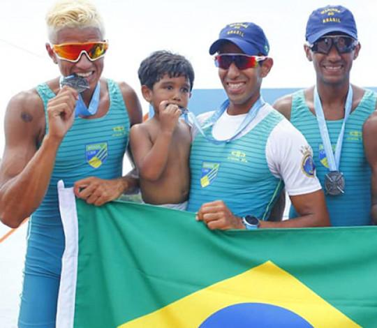 Remadores rubro-negros garantem vagas nos Jogos Pan-Americanos 2019