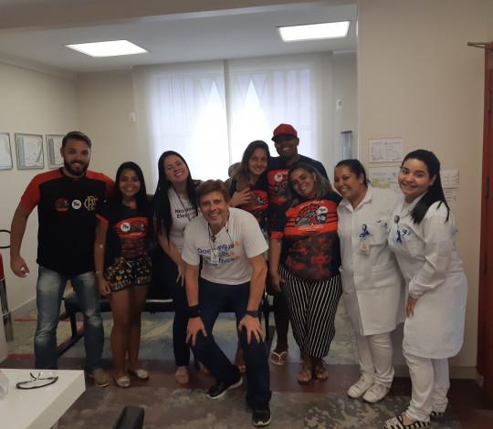 Campanha de doação de sangue da Embaixada Urubuaçu