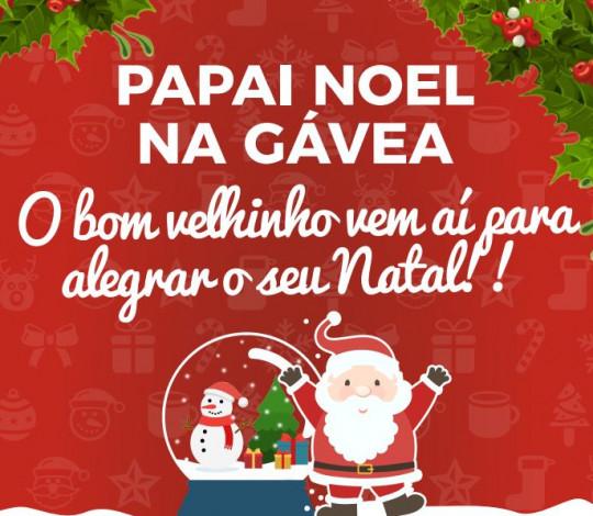 O Papai Noel vem aí